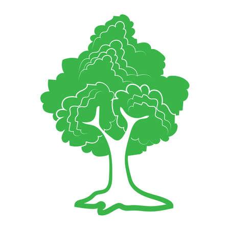 tree icon 版權商用圖片 - 81536709