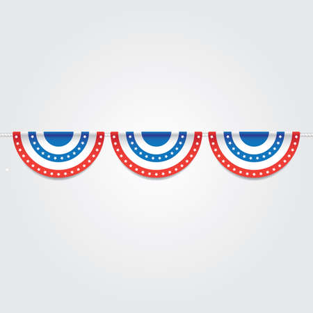 米国旗布はフラグの図です。