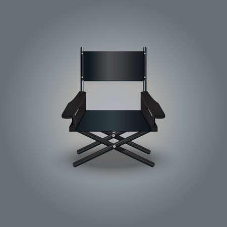 director chair Illustration