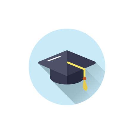 graduation hat Ilustração