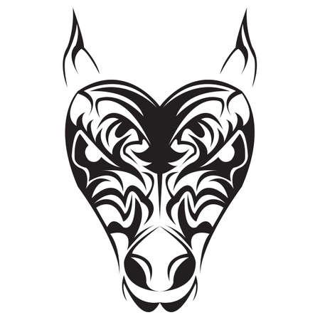 tatuaje tribal Ilustración de vector