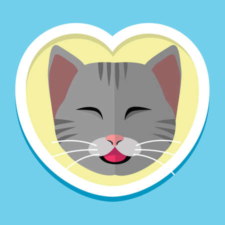 Cat icon Çizim
