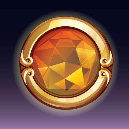 bouton bijou Vecteurs