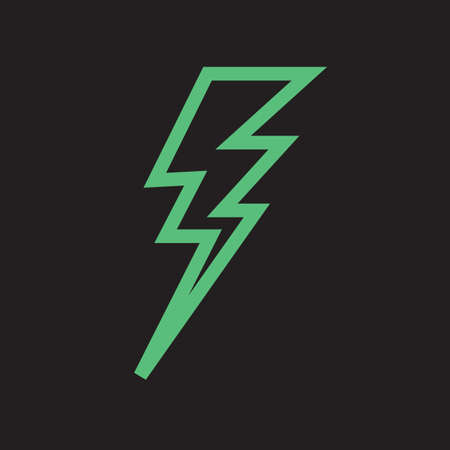 lightning bolt Ilustrace