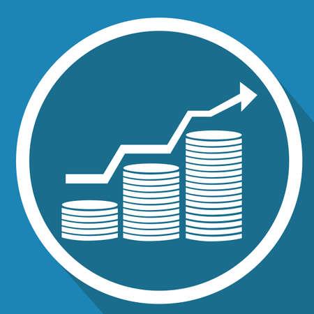Groei van munten Stockfoto - 81538885