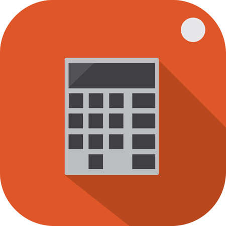 calculator tag Standard-Bild - 106673836