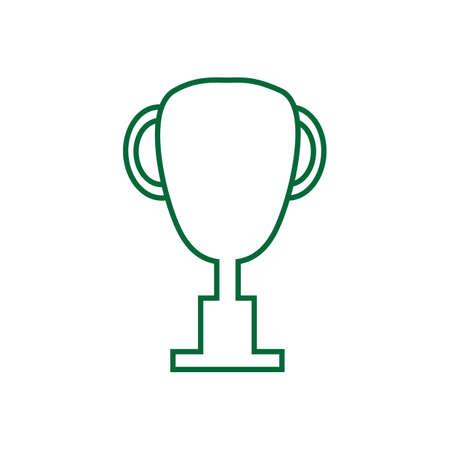 Une illustration de trophée. Banque d'images - 81487025
