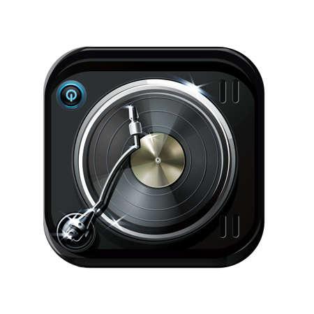 Platine DJ Banque d'images - 81538179