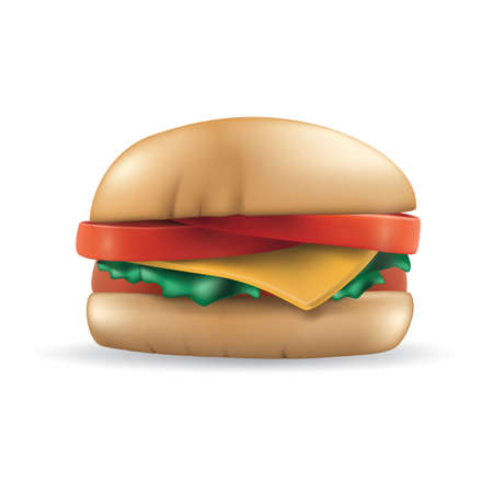 Burger icon Ilustrace