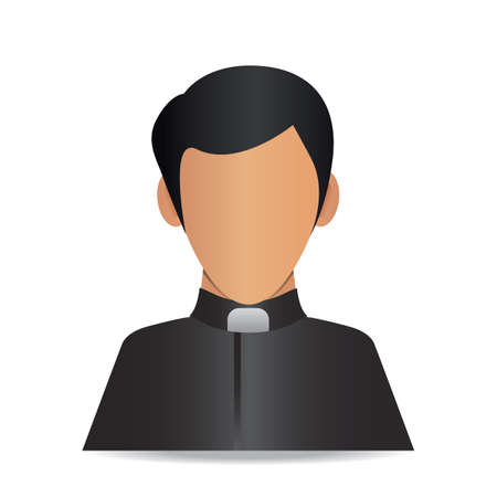 priest 向量圖像