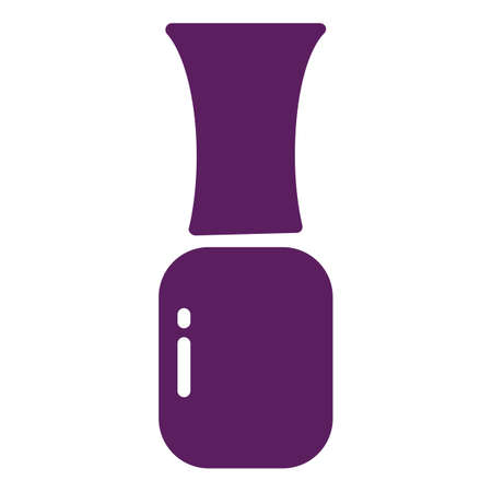 Nail polish Ilustracja