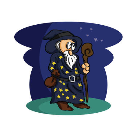 Wizard Ilustração