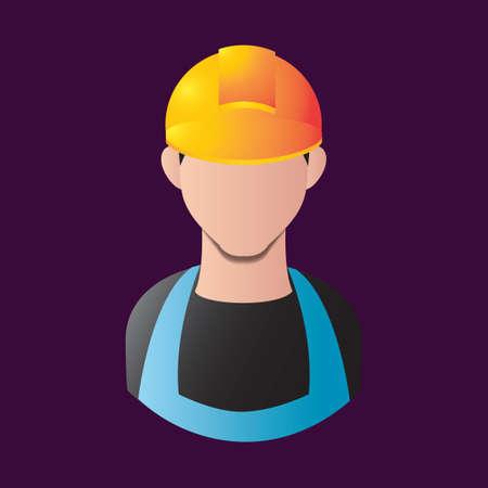 construction worker Vetores