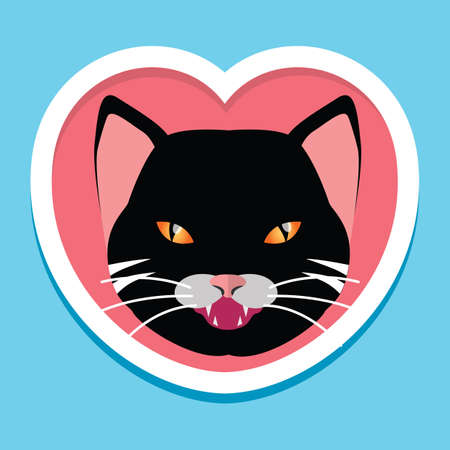 Cat icon Illustration