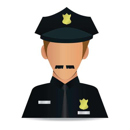 policeman Ilustração