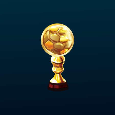 Trophée de football Banque d'images - 81487100