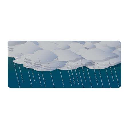 A rain illustration.