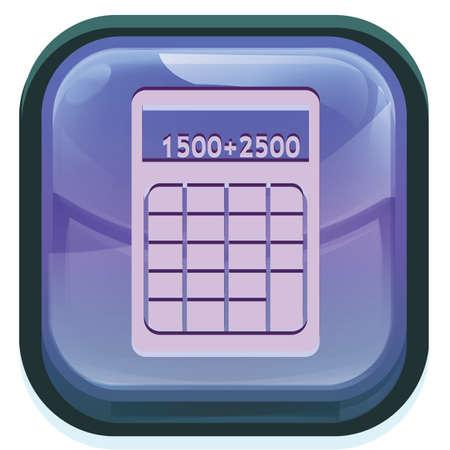 Taschenrechner Standard-Bild - 81538899