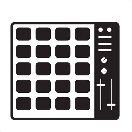 Controller Midi pad Archivio Fotografico - 81538240