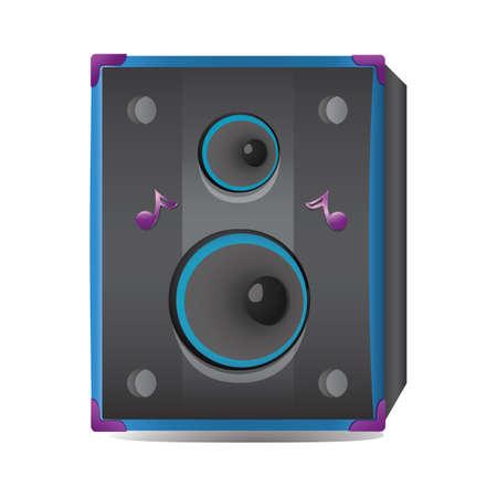 Haut-parleur audio Banque d'images - 81538242