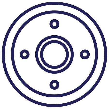 round shield Illustration