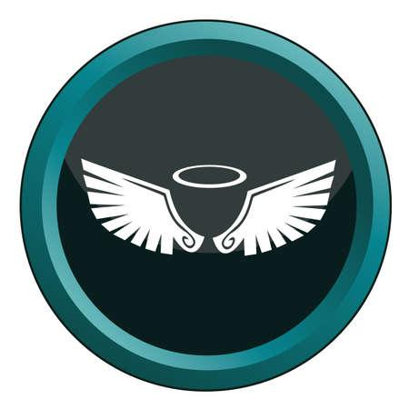 ailes d'ange avec halo
