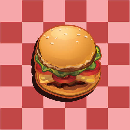 Hamburger pictogram