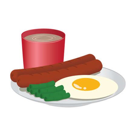 breakfast Stock Illustratie
