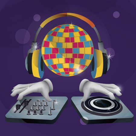 Equipamento de DJ Foto de archivo - 81538261