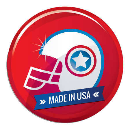 Made in usa Stock Vector - 81538277