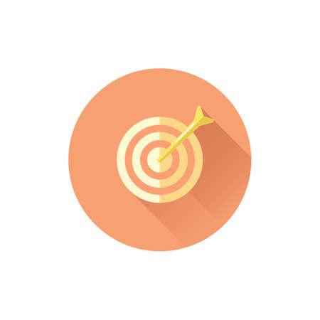 Target board. Ilustração