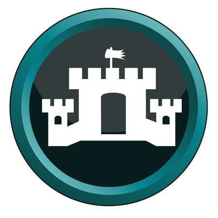 Schloss Vektorgrafik