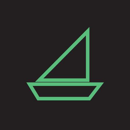 boat Illusztráció