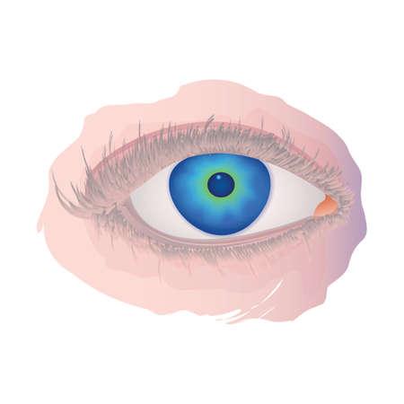eye Ilustracja