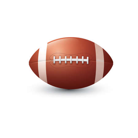american football Stockfoto - 106674087