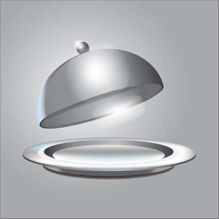 cloche avec assiette