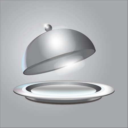cloche with plate