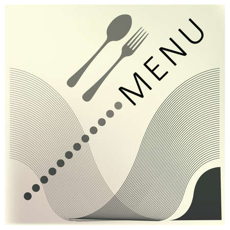 restaurant menu design 向量圖像