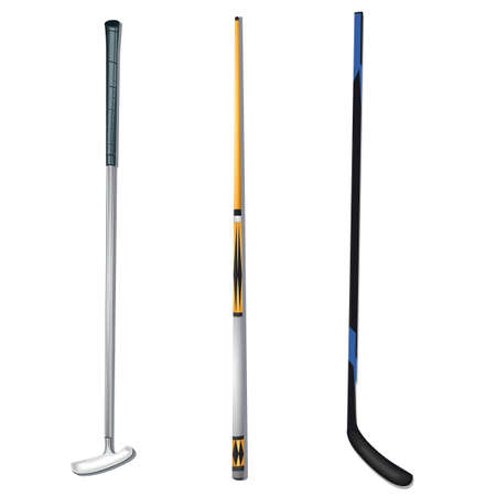 A sports sticks illustration. Stock fotó - 81535948