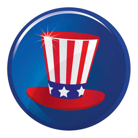uncle sam hat 일러스트