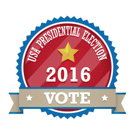 アメリカ大統領選挙のラベル