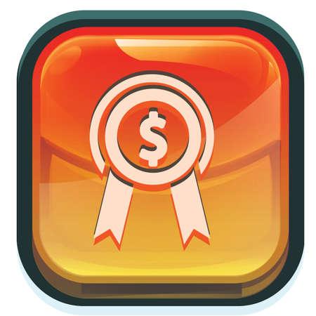 dollar medal 向量圖像