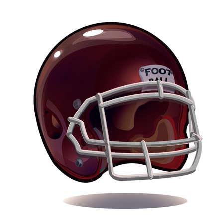 american football helmet Illustration