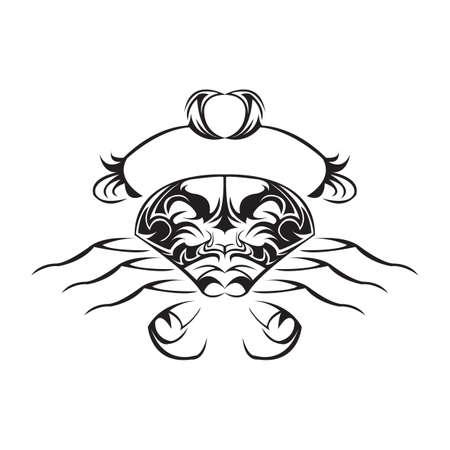 tribal tattoo Ilustrace