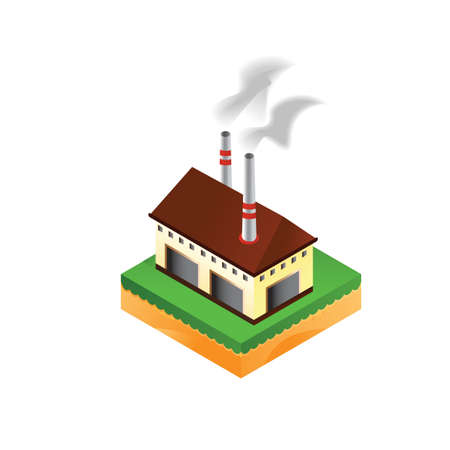 industry Ilustracja