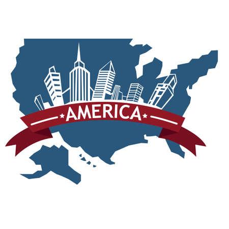 american cityscape design
