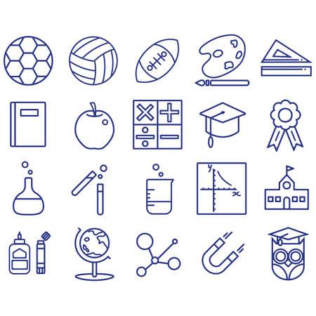 educational icons