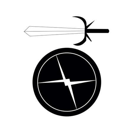 Schwert mit Schild