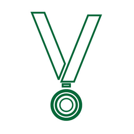 A medal illustration.