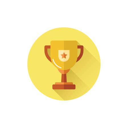 Gouden trofee.